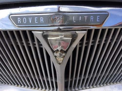 1962 Rover 3 Litre at Morris Leslie Classic Auction 25th May SOLD by Auction (picture 4 of 6)