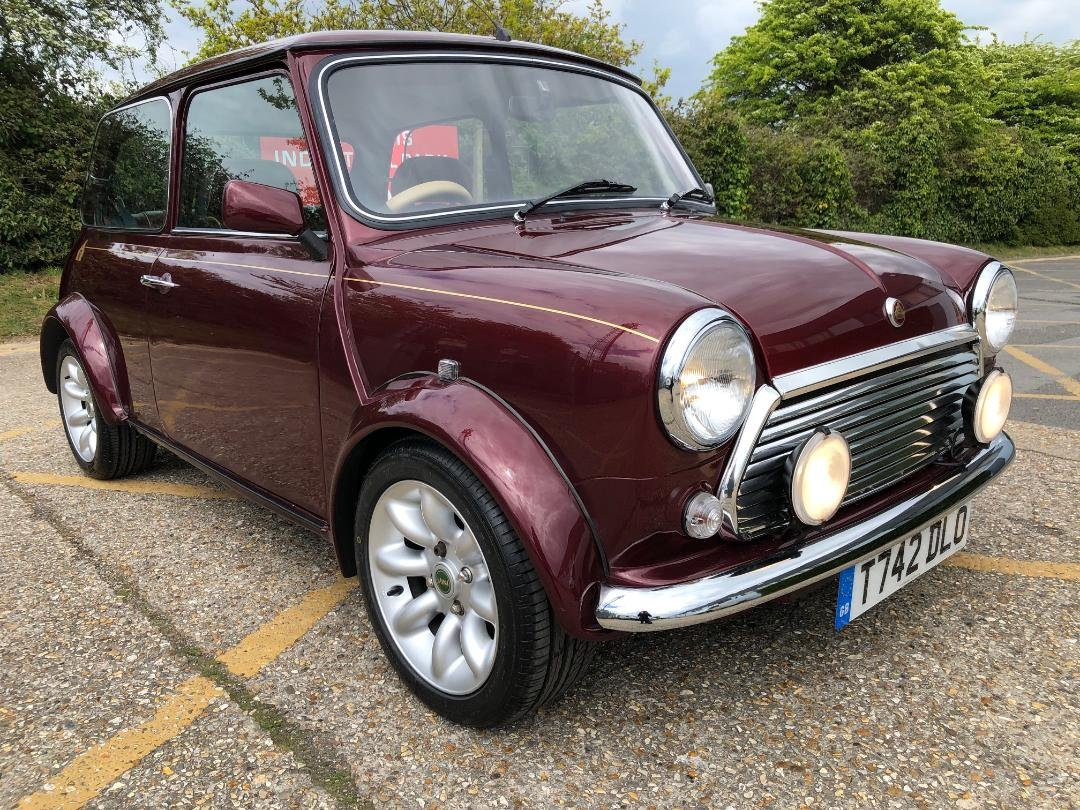 1999 Rover Mini 40. 1275. MPi. Mulberry Red. Very rare For Sale (picture 1 of 6)