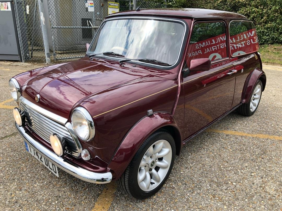 1999 Rover Mini 40. 1275. MPi. Mulberry Red. Very rare For Sale (picture 4 of 6)