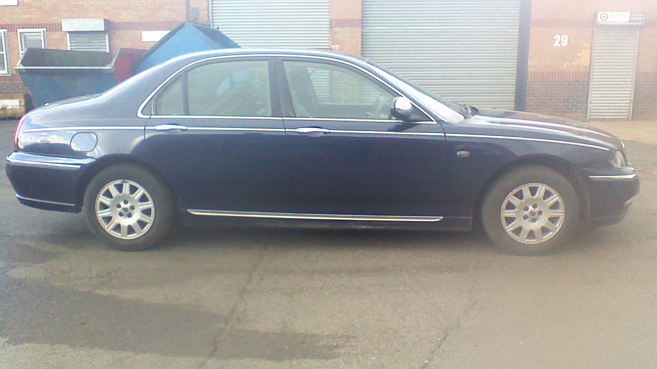 2003 Rover 75 Connoisseur saloon diesel For Sale (picture 1 of 5)