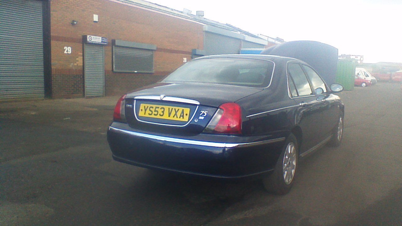 2003 Rover 75 Connoisseur saloon diesel For Sale (picture 2 of 5)