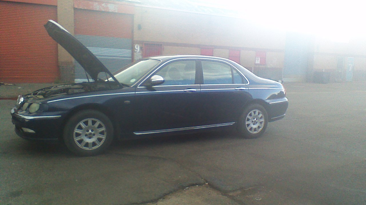 2003 Rover 75 Connoisseur saloon diesel For Sale (picture 4 of 5)