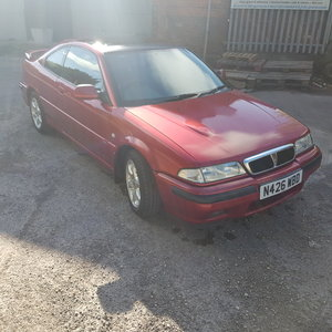 1995 1996 Rover coupe 220 Turbo For Sale