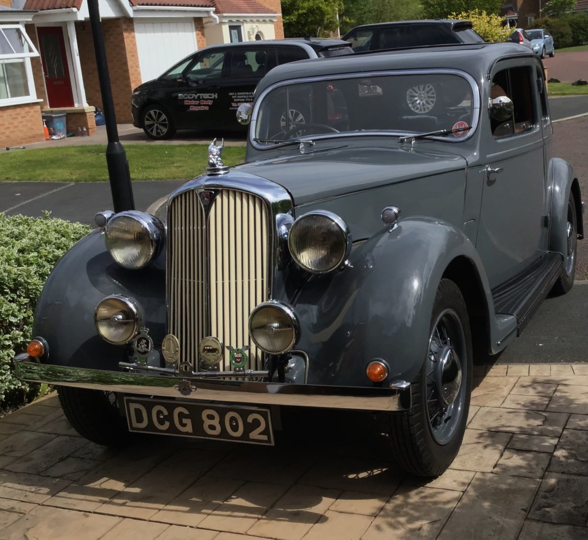 1939 P2 ROVER 10 COUPÉ For Sale