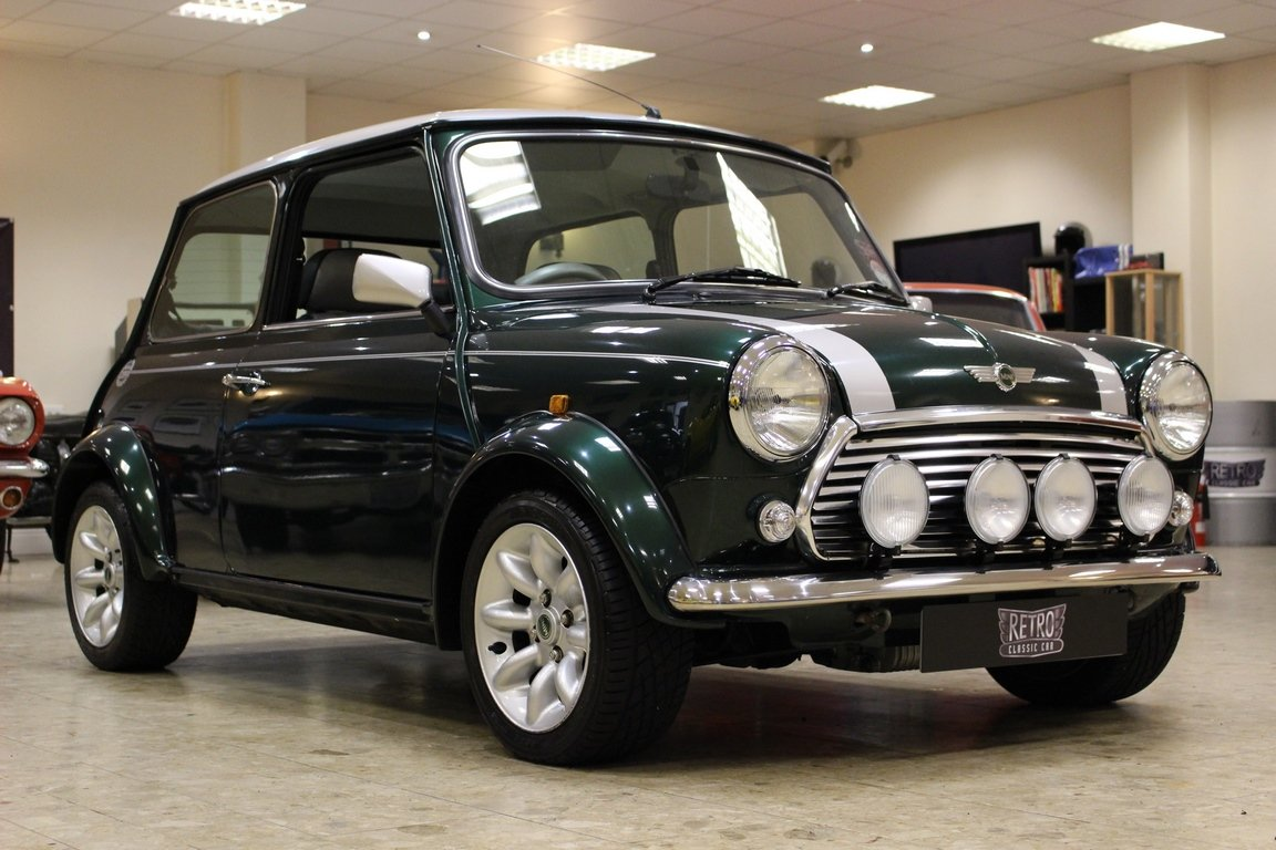 2000 Mini Cooper Sports 1300-One owner from new SOLD (picture 1 of 6)