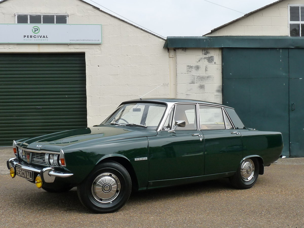 1968 Rover 3500 V8 Series 1 P6, Sold SOLD (picture 1 of 6)