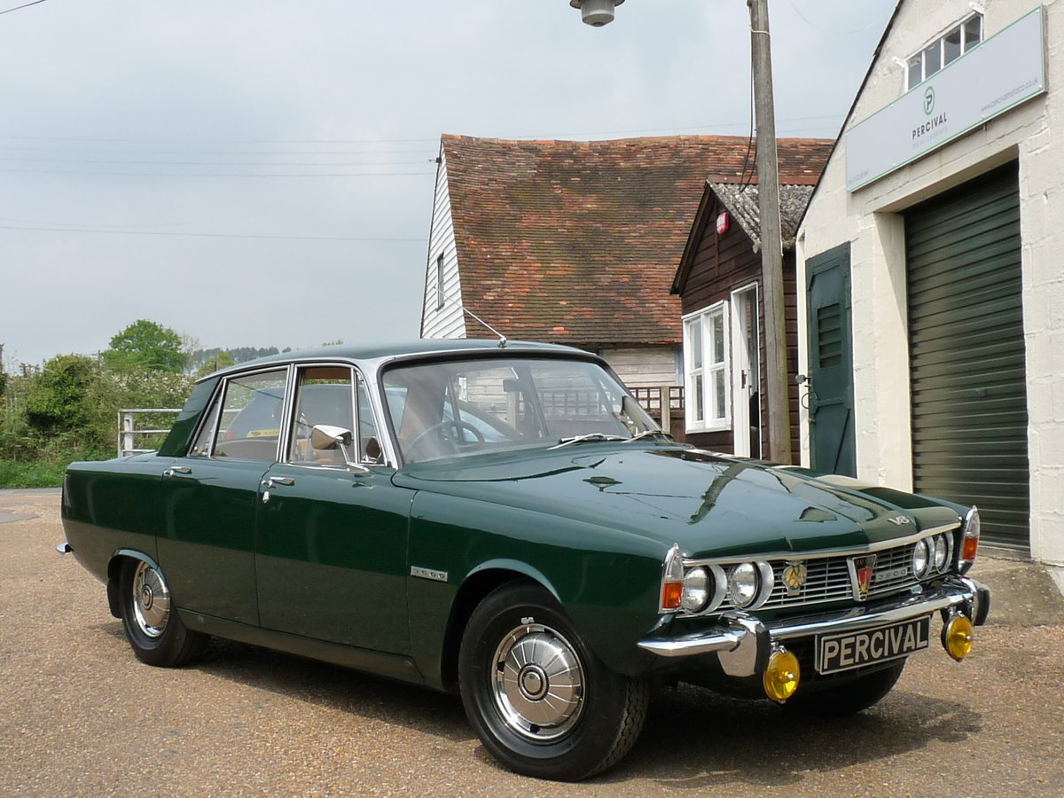 1968 Rover 3500 V8 Series 1 P6, Sold SOLD (picture 5 of 6)