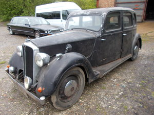 ROVER P2 1946 BARN FIND COMPLETE RUNNING FOR RESTO