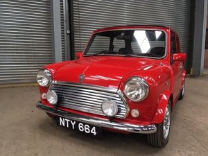 1994 Rover Mini Sprite at Morris Leslie Auction 25th May SOLD by Auction