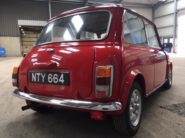 1994 Rover Mini Sprite at Morris Leslie Auction 25th May SOLD by Auction (picture 2 of 6)