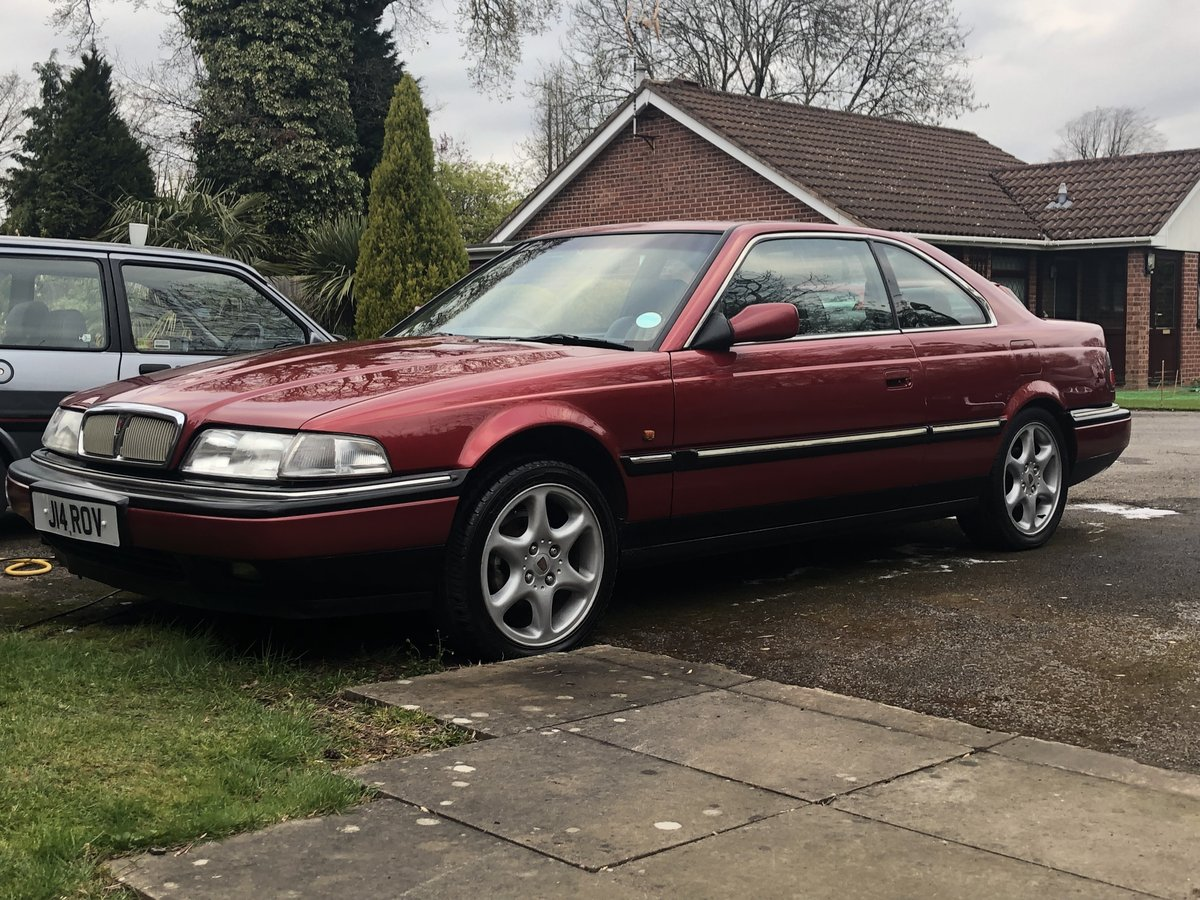 1998 Rover 820 Vitesse coupe For Sale (picture 1 of 6)