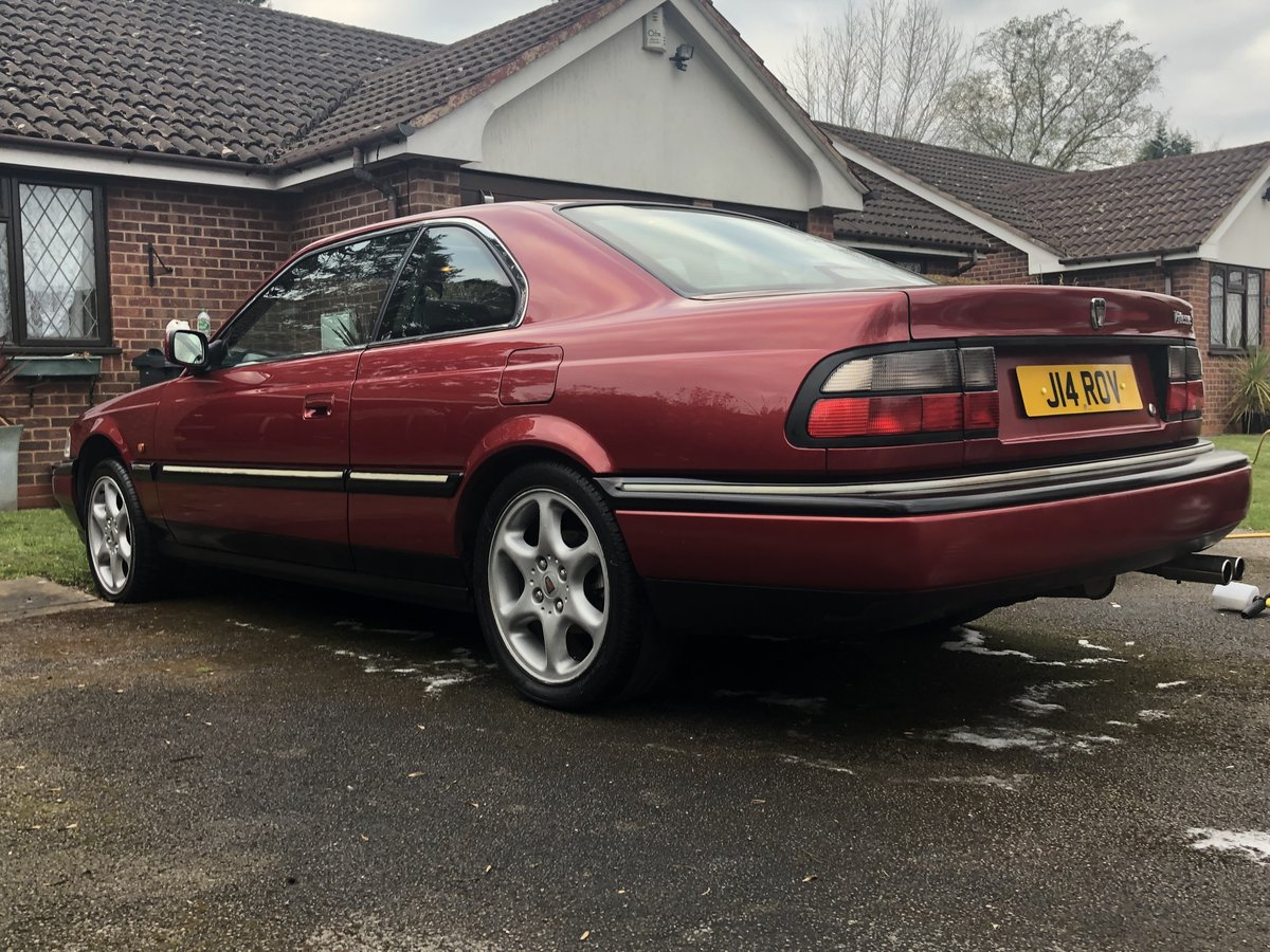 1998 Rover 820 Vitesse coupe For Sale (picture 2 of 6)