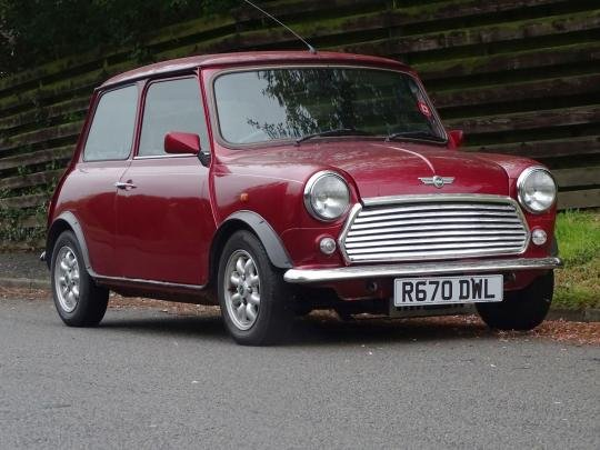 1998 Rover Mini Kensington For Sale by Auction (picture 1 of 1)