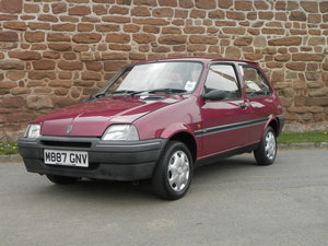 1995 Rover Metro Rio only 18,672 miles offered at No Reserve For Sale by Auction