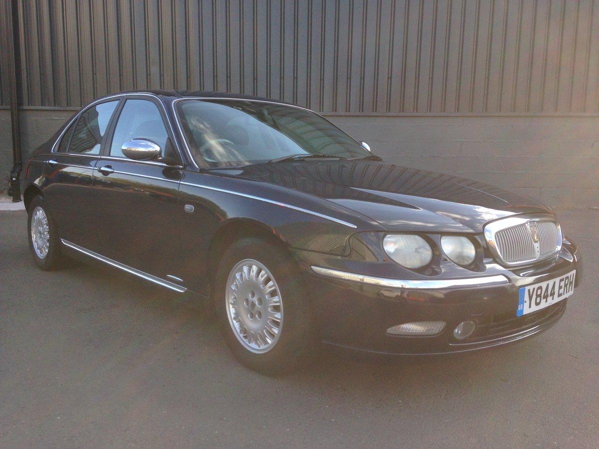 2001 ROVER 75 CONNOISSEUR SE AUTO 2.5V6 78k LAUNCH CAR SPEC For Sale (picture 2 of 6)