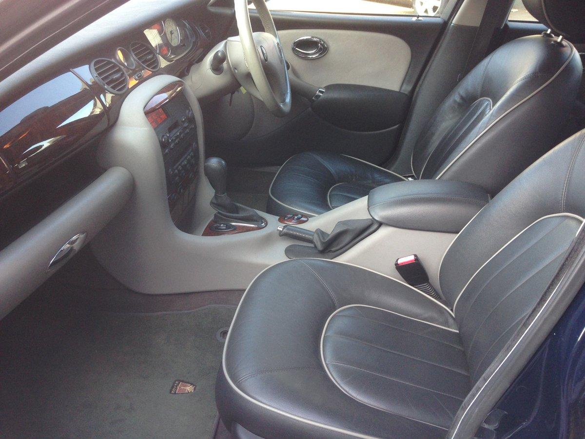 2001 ROVER 75 CONNOISSEUR SE AUTO 2.5V6 78k LAUNCH CAR SPEC For Sale (picture 5 of 6)