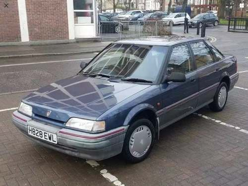 1990 Rover 416 GSI 19K Miles at Morris Leslie Auction 17th August For Sale by Auction (picture 1 of 1)