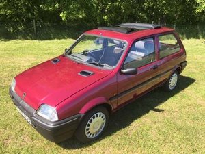 1994 Rover Metro Rio at Morris Leslie Auction 25th May SOLD by Auction