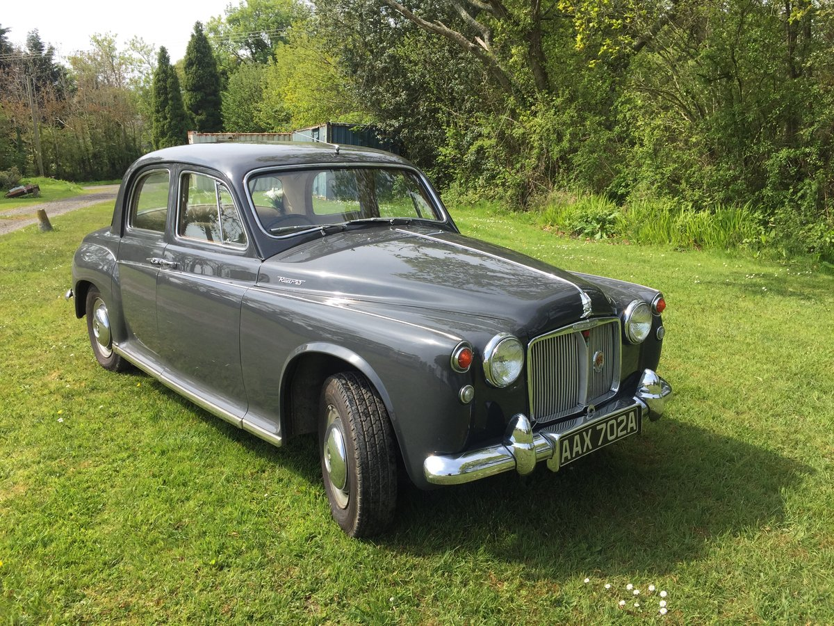 1963 Rover p4 95 For Sale (picture 1 of 6)
