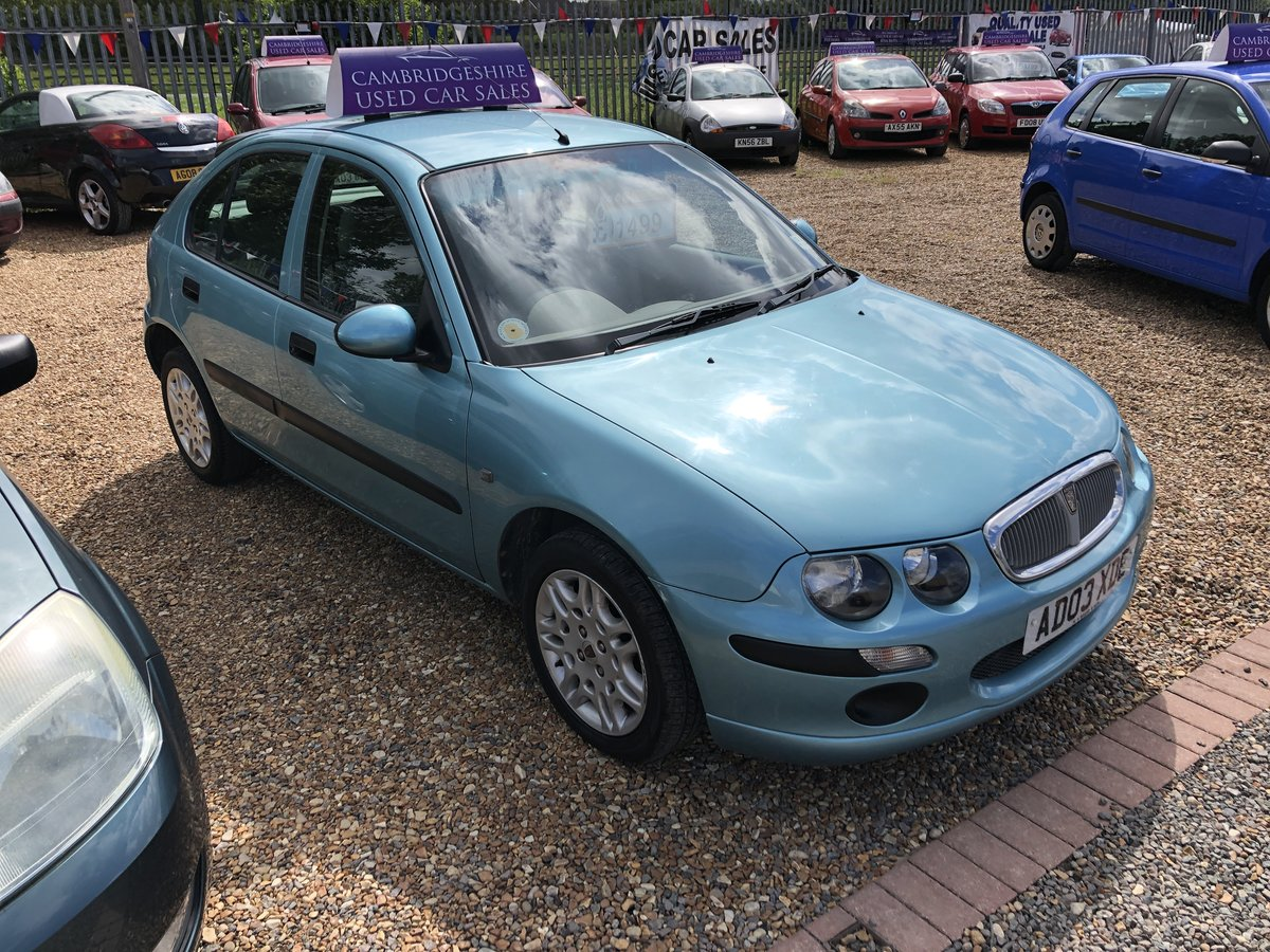 2003 Rover 25 1.6 iL Stepspeed 5dr For Sale (picture 1 of 6)