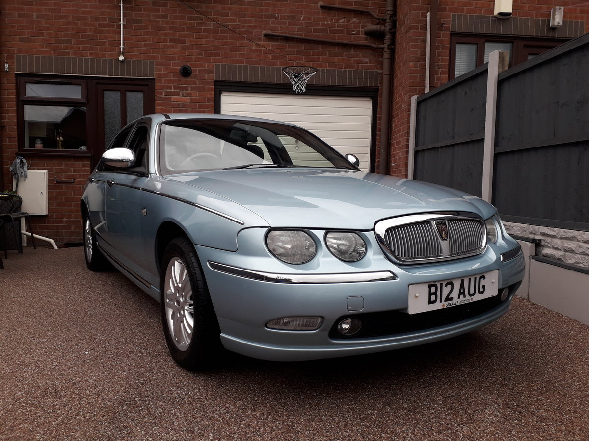 2002 Rover 75 Connoiseur SE 2.0 Private Plate included SOLD (picture 1 of 6)