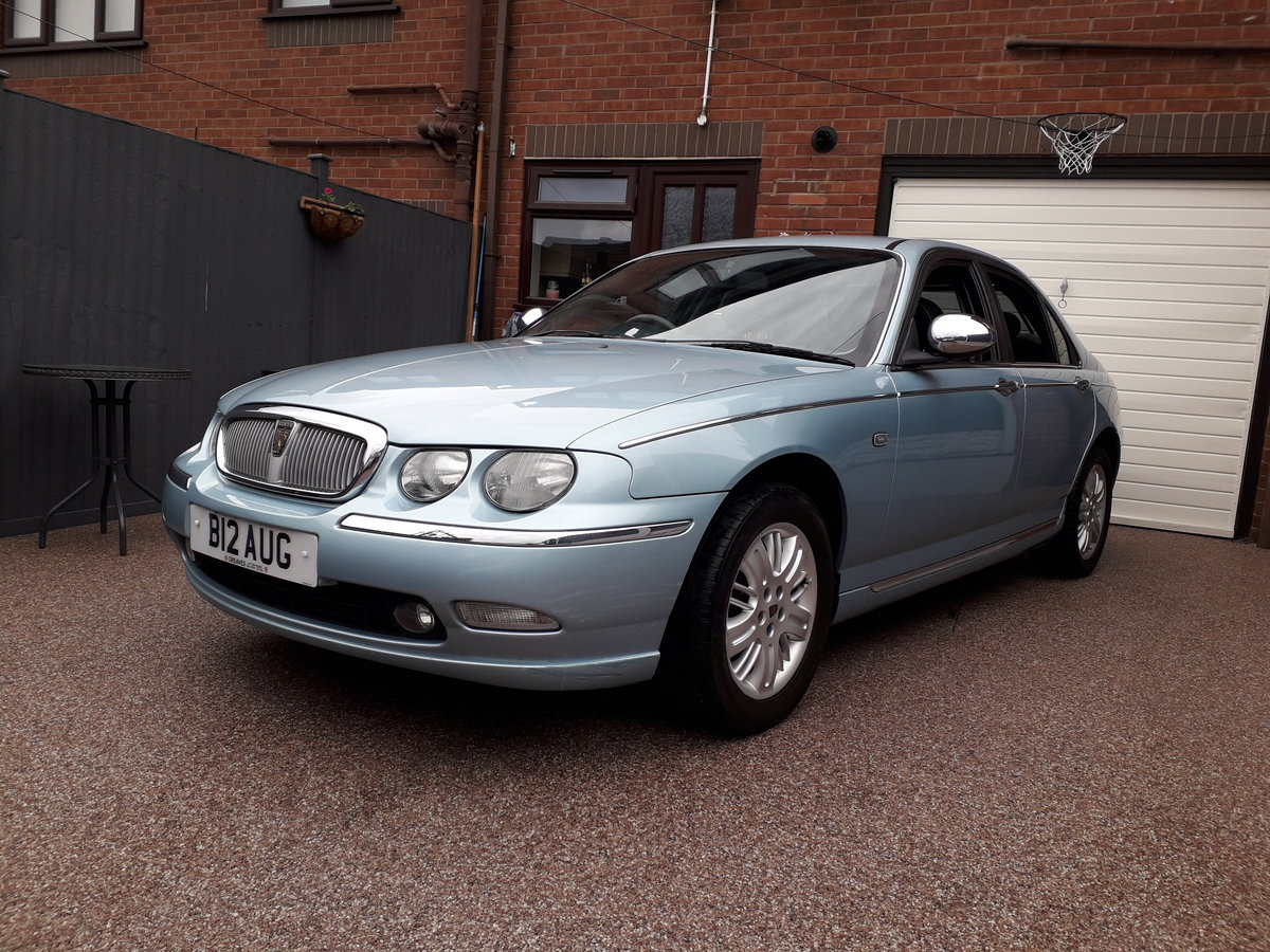 2002 Rover 75 Connoiseur SE 2.0 Private Plate included For Sale (picture 2 of 6)