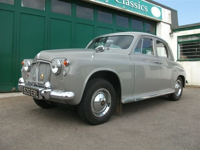 1959 Rover P4 60, in superb, original condition! For Sale (picture 1 of 6)