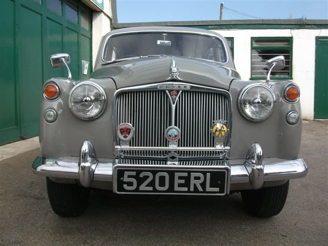 1959 Rover P4 60, in superb, original condition! For Sale (picture 5 of 6)