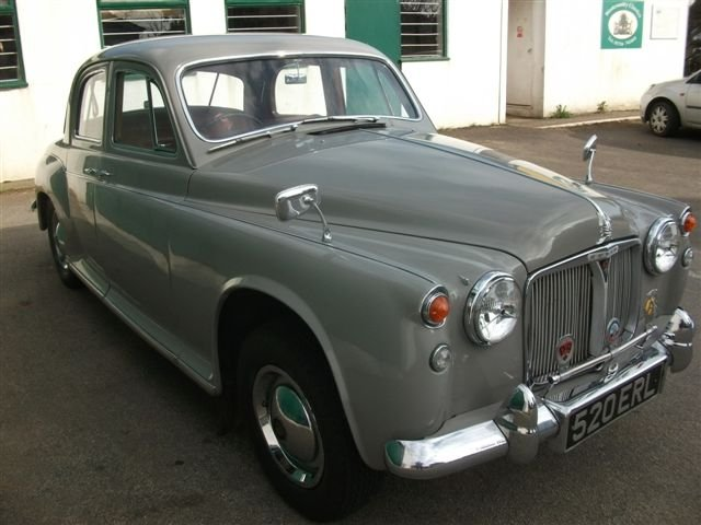 1959 Rover P4 60, in superb, original condition! For Sale (picture 6 of 6)
