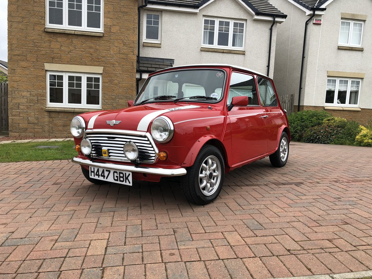 1991 1990 Rover Mini Cooper Rsp With Excellent History For Sale