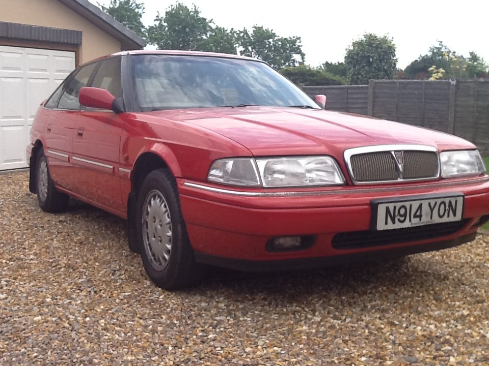 1995 Rover sterling SOLD (picture 5 of 6)
