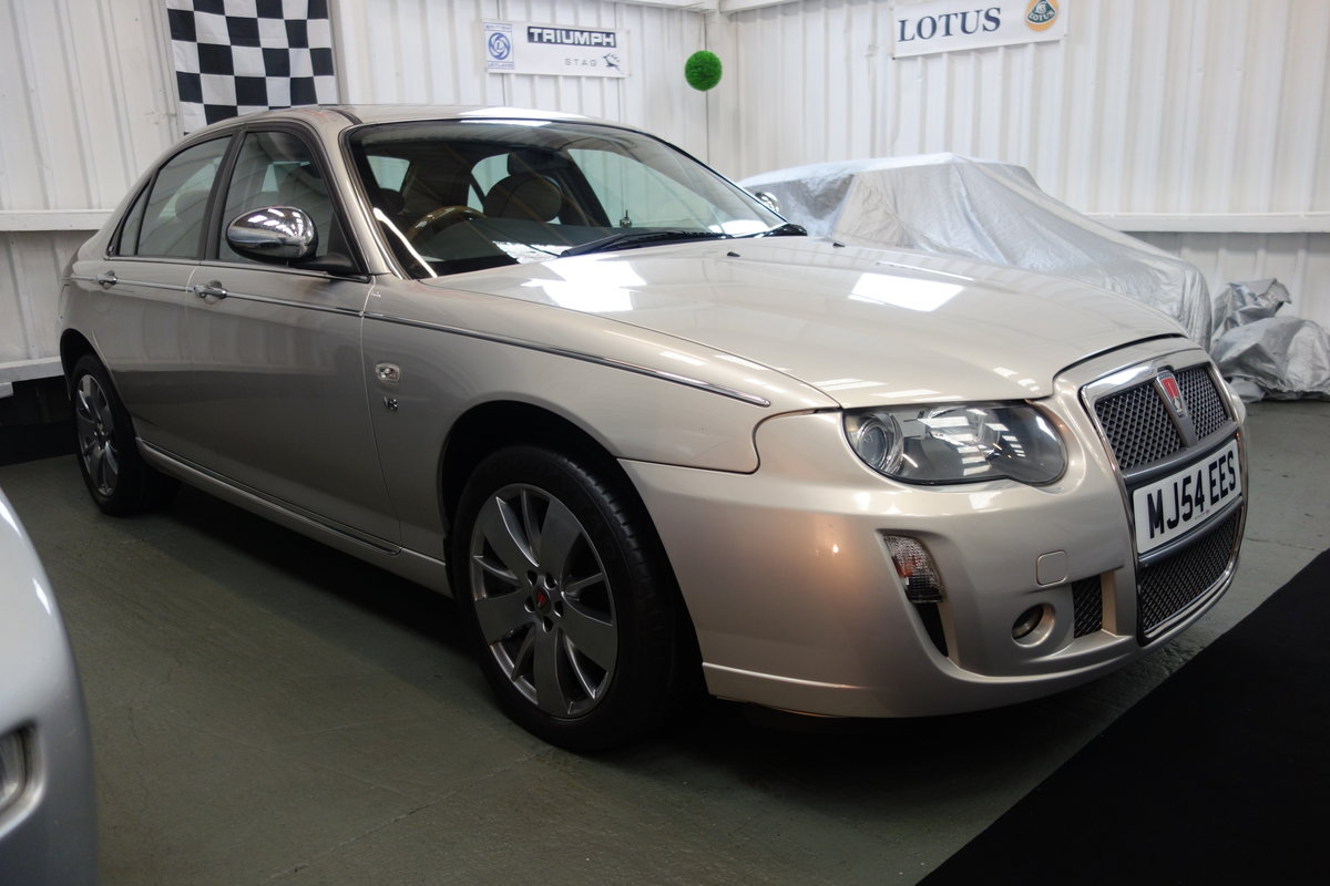 2004 Rover 75 V8 Low mileage and excellent condition SOLD (picture 2 of 6)