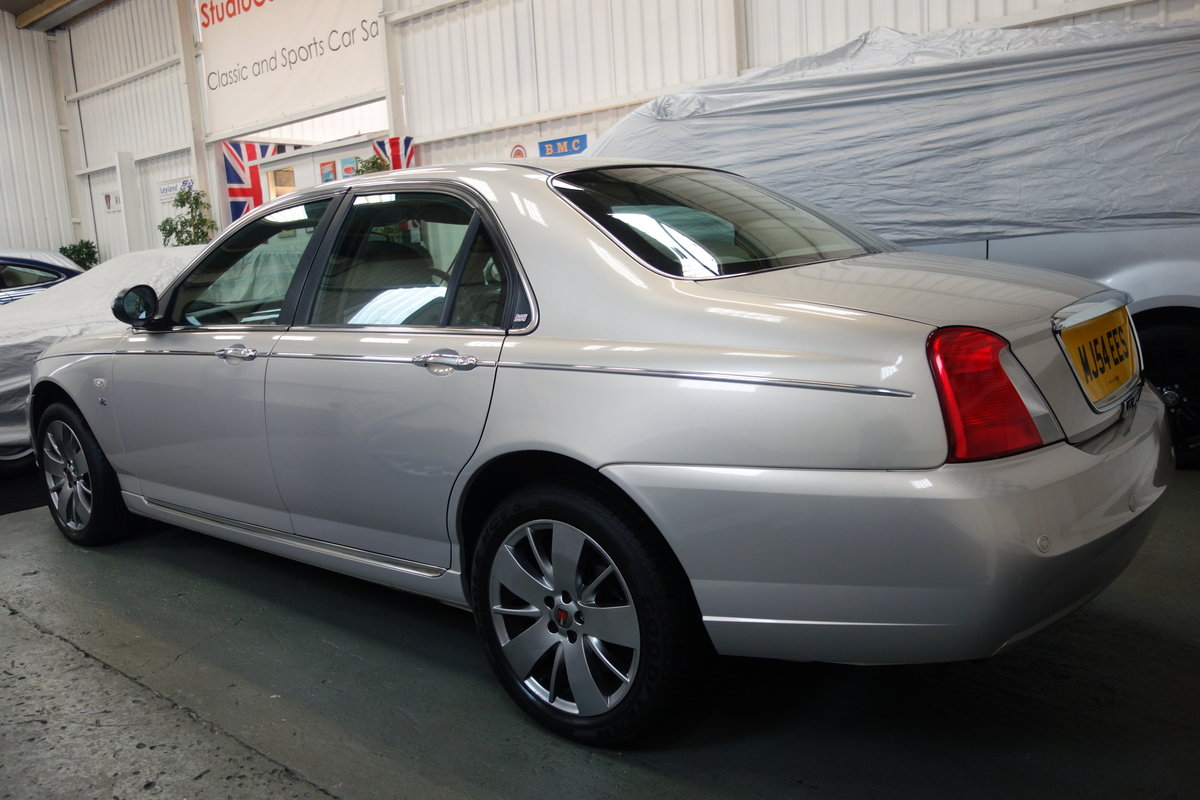 2004 Rover 75 V8 Low mileage and excellent condition SOLD (picture 3 of 6)