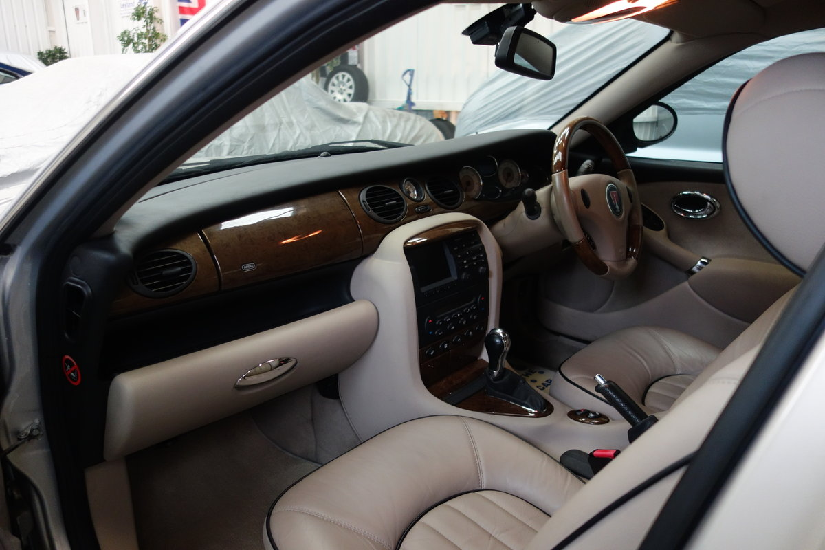 2004 Rover 75 V8 Low mileage and excellent condition SOLD (picture 4 of 6)