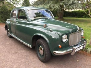 1955 Rover P4 75 at ACA 15th June