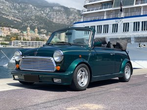 1996 Rover Mini Cabriolet usine No reserve For Sale by Auction