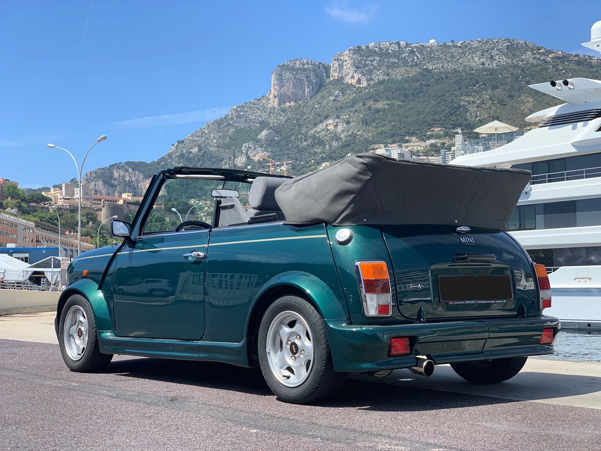 1996 Rover Mini Cabriolet usine No reserve For Sale by Auction (picture 2 of 6)