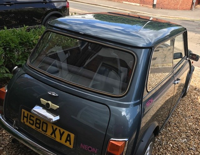 Limited edition Mini Neon 1991 reg low mileage For Sale (picture 5 of 6)