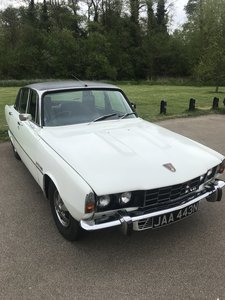 1975 Rover P6 Low number of owners