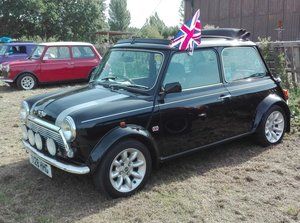 1999 Mini Cooper Sport with full electric sunroof