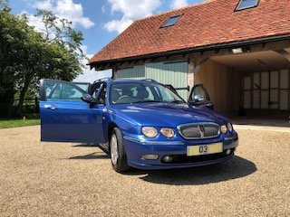 2003 Rare opportunity to buy a stunning Rover 75 Tourer