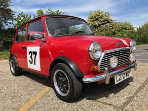 1993 Rover Mini Sprite. 1275cc. Flamed red. Nice extras.
