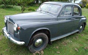 1956 LPG Rover P4 SOLD