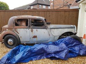 1946 Rover P2 12 sportsman for restoration For Sale