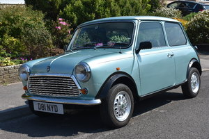 Lot 5- A 1987 Austin Rover Mini Mayfair automatic-23/06/2019 For Sale by Auction