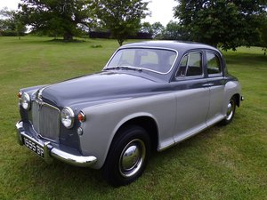 1958 Rover P4 75 six cylinder saloon For Sale