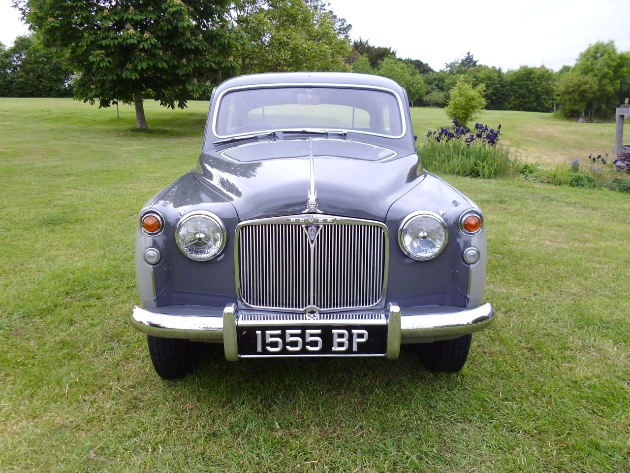 1958 Rover P4 75 six cylinder saloon For Sale (picture 2 of 6)