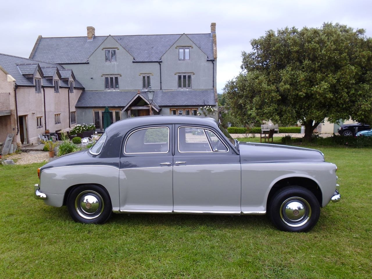 1958 Rover P4 75 six cylinder saloon For Sale (picture 3 of 6)
