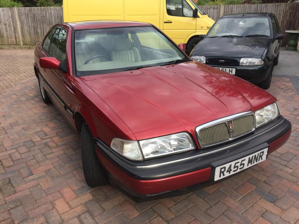 1998 Rover 800 820 Sterling Coupe For Sale (picture 1 of 6)