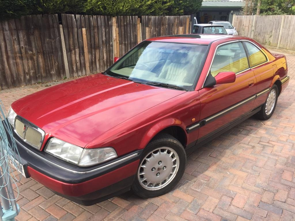 1998 Rover 800 820 Sterling Coupe For Sale (picture 2 of 6)